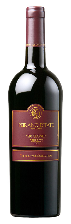 "Peirano Estate ""Six Clones"" Merlot"